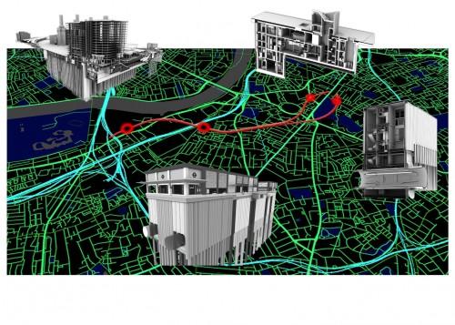 proyectos bim construccion northern line extension