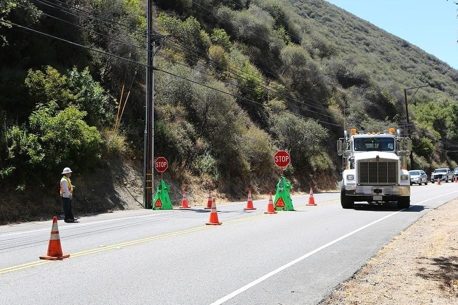 seguridad laboral cierres carreteras