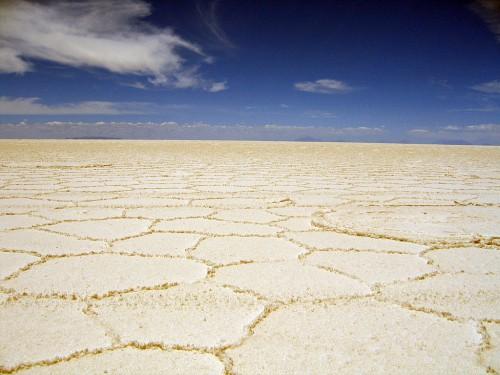 Asphalt alternatives salar de Uyuni summer