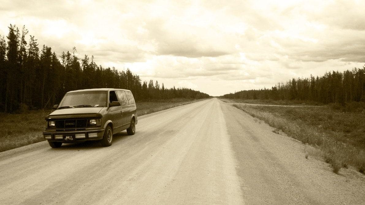 carreteras sin asfaltar Mackenzie verano