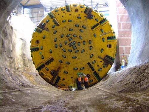 construccíon de túneles Matilda