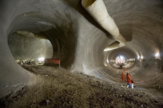 consturcción de túneles mega túneles