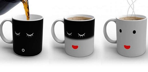 intelligent materials - mug temperature sensitive