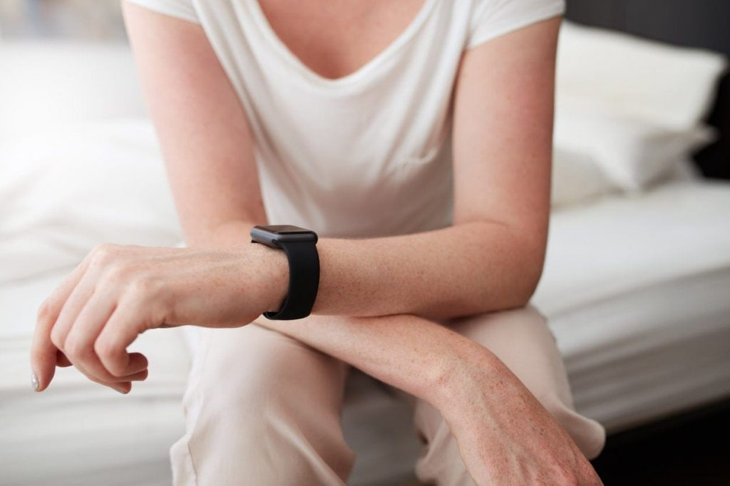 woman smartwatch internet of things