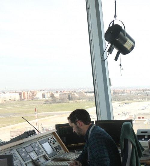 torre de control cuatro vientos madrid