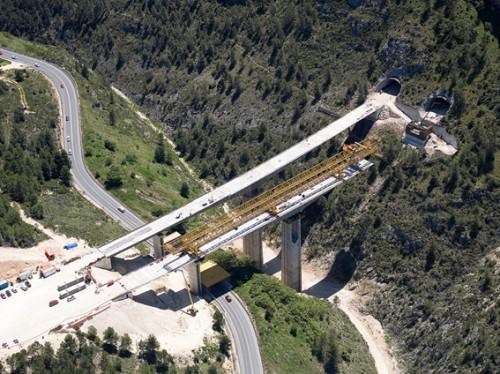 tunnel construction ALCOY