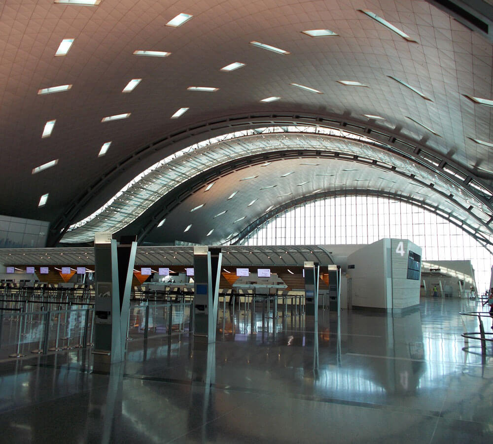 interior Hamad International Airport Doha