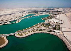 aerial view of Hamad International Airport Doha