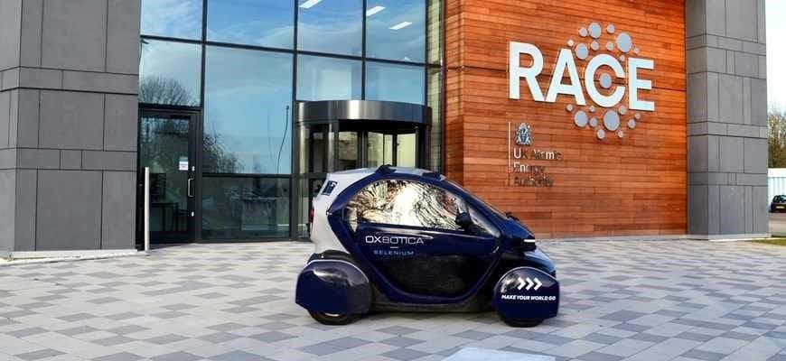 futuro transporte coche autónomo race y amey