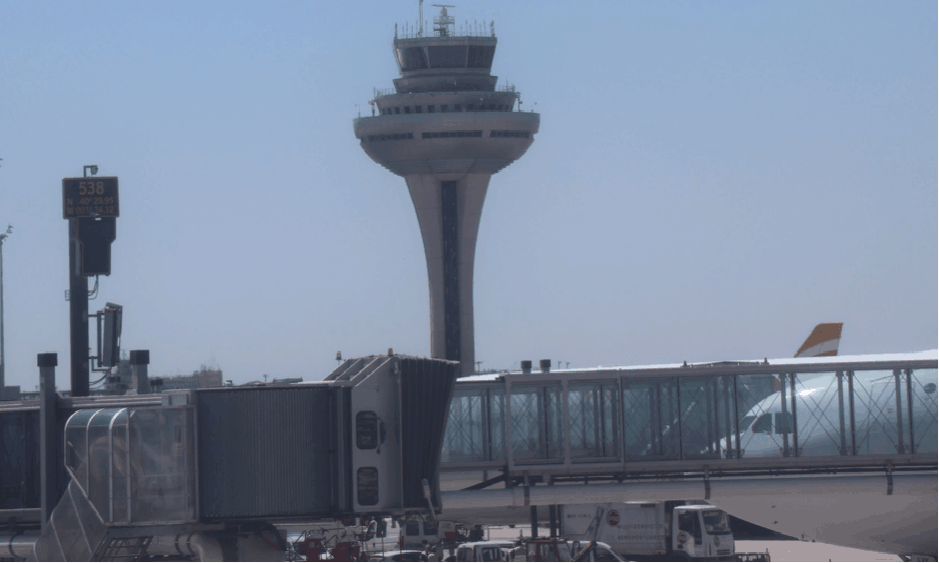 The language spoken only in control towers to manage a sky-load of