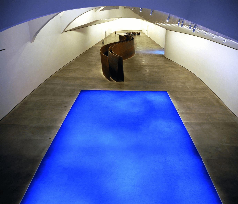 Interior del museo Guggenheim