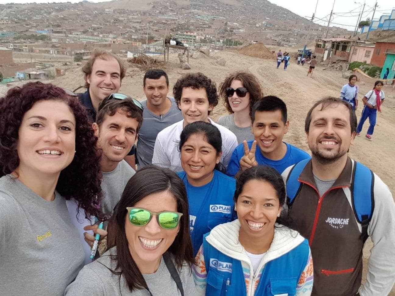 Grupo de voluntarios