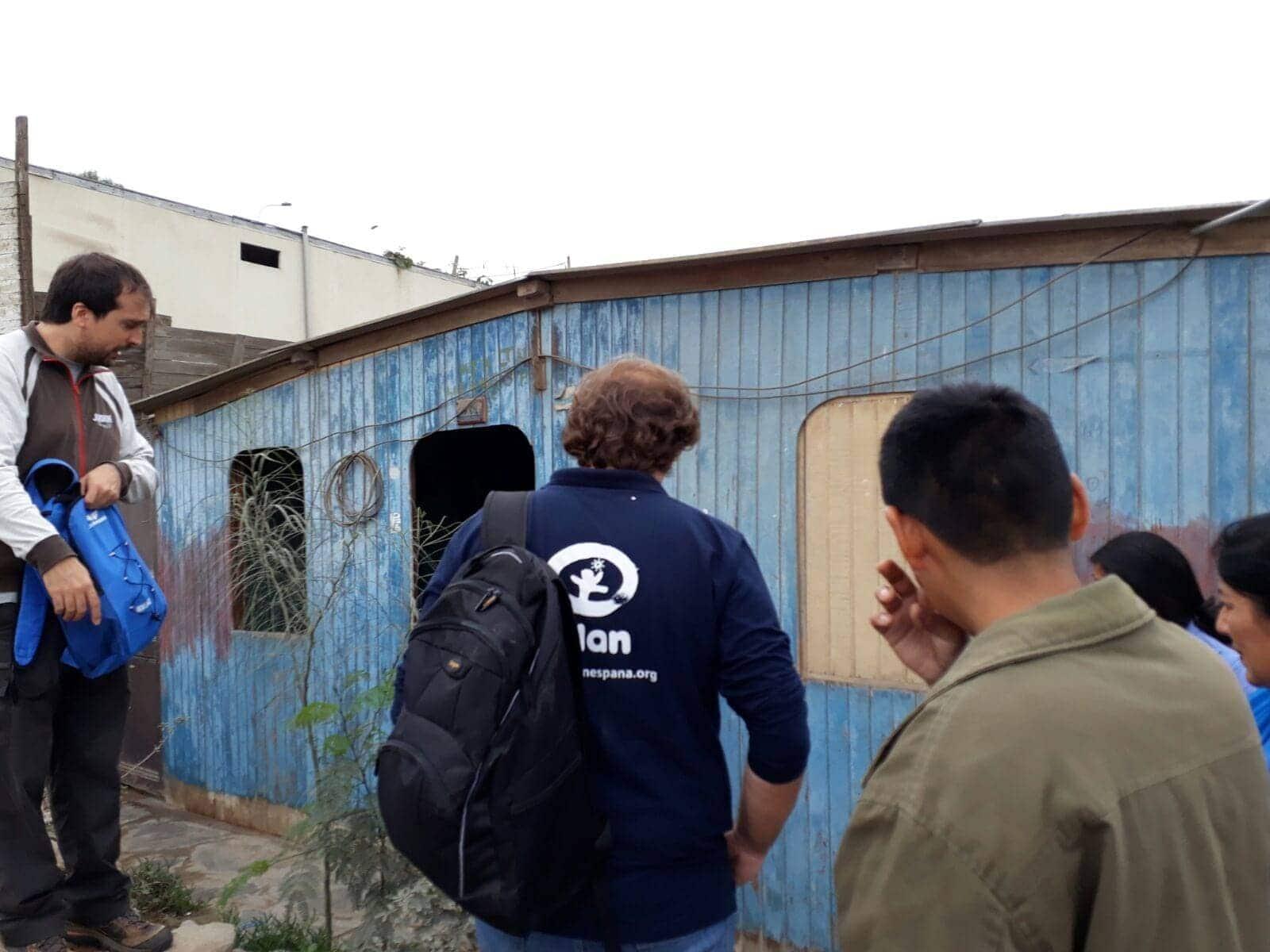 Voluntarios para llevar agua potable