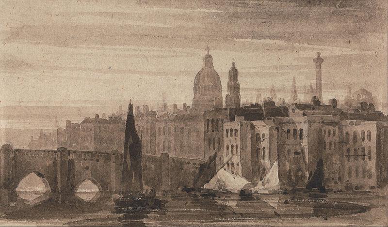 El antiguo puente de Londres