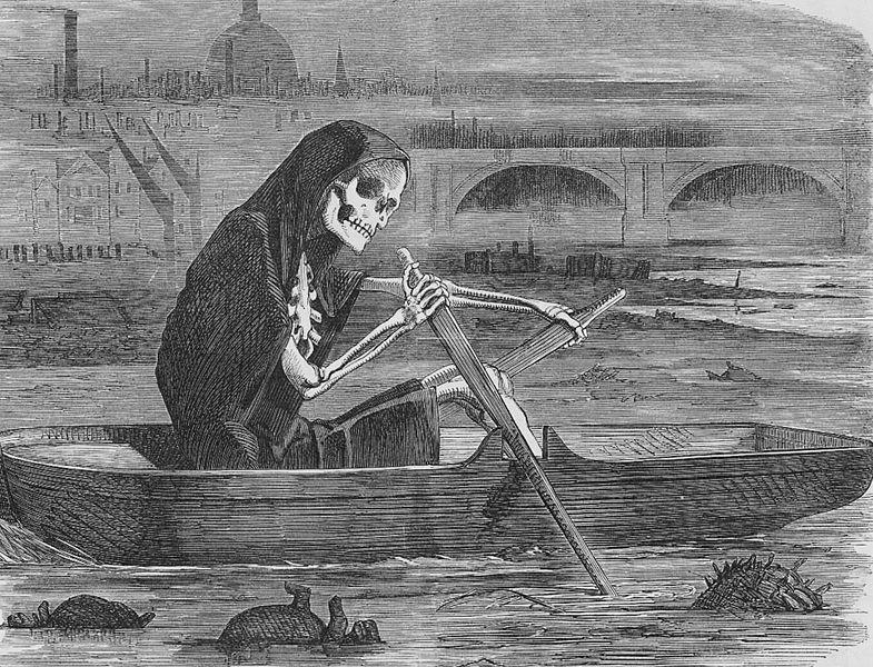 Campaña limpieza del Támesis en 1858
