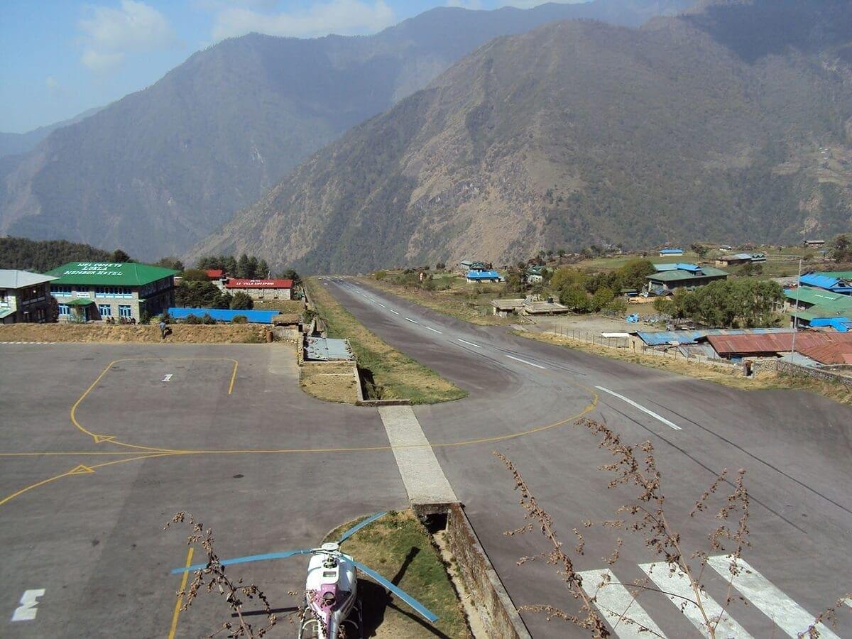 Aeropuerto Tenzing Hillary Nepal