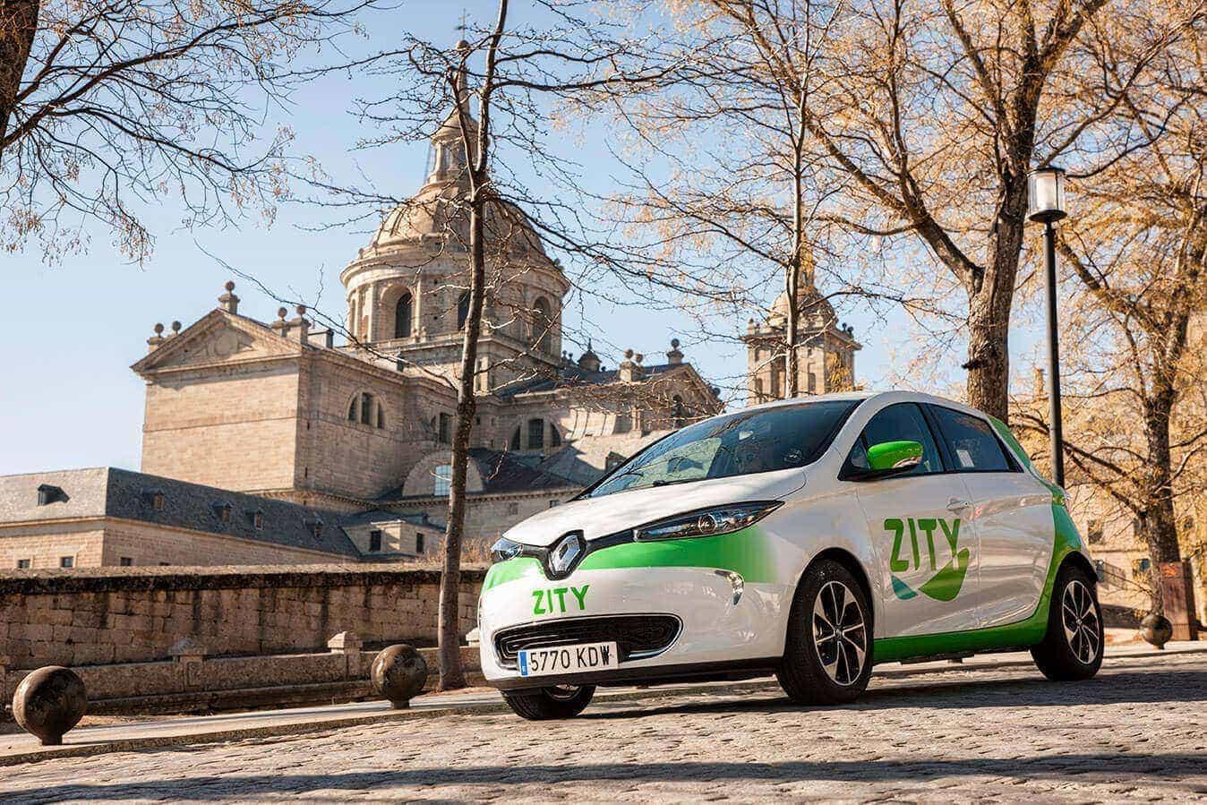 Zity car sharing