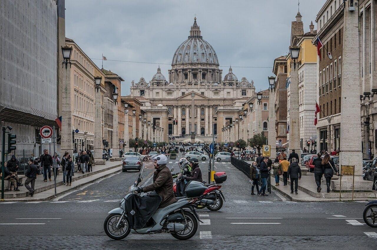 Basílica de San Pedro, Ciudad el Vaticano