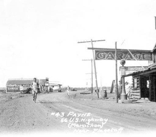 One of the first images of Route 66