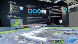 panel virtual realidad aumentada de aeropuertos