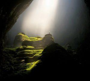 underground cave