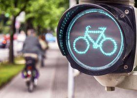 carril bici en ciudades