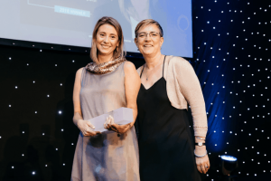 Sara Collado premio WICE 2018