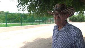 Lucho Torres, líder de la comunidad de El Salado, Colombia
