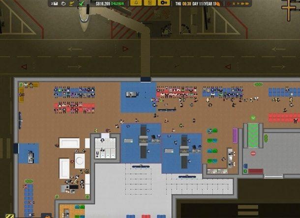 Ser el CEO de un aeropuerto en un videojuego