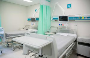 Public hospital room with different services