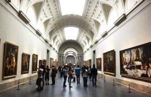 Vista del interior del Museo del Prado