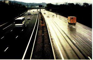 seguridad en el asfalto de las autopistas