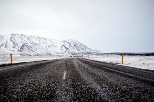 carreteras intransitables en Islandia por el frío