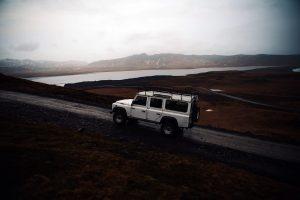 desafíos de transitar por las carreteras de Islandia