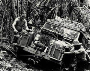 Expedición a través del Darién en 1978
