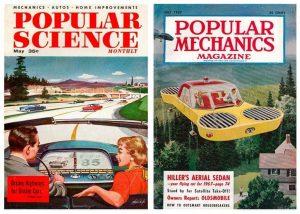 portada revistas retrofuturistas