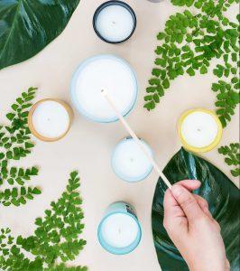 Regalos sostenibles: velas