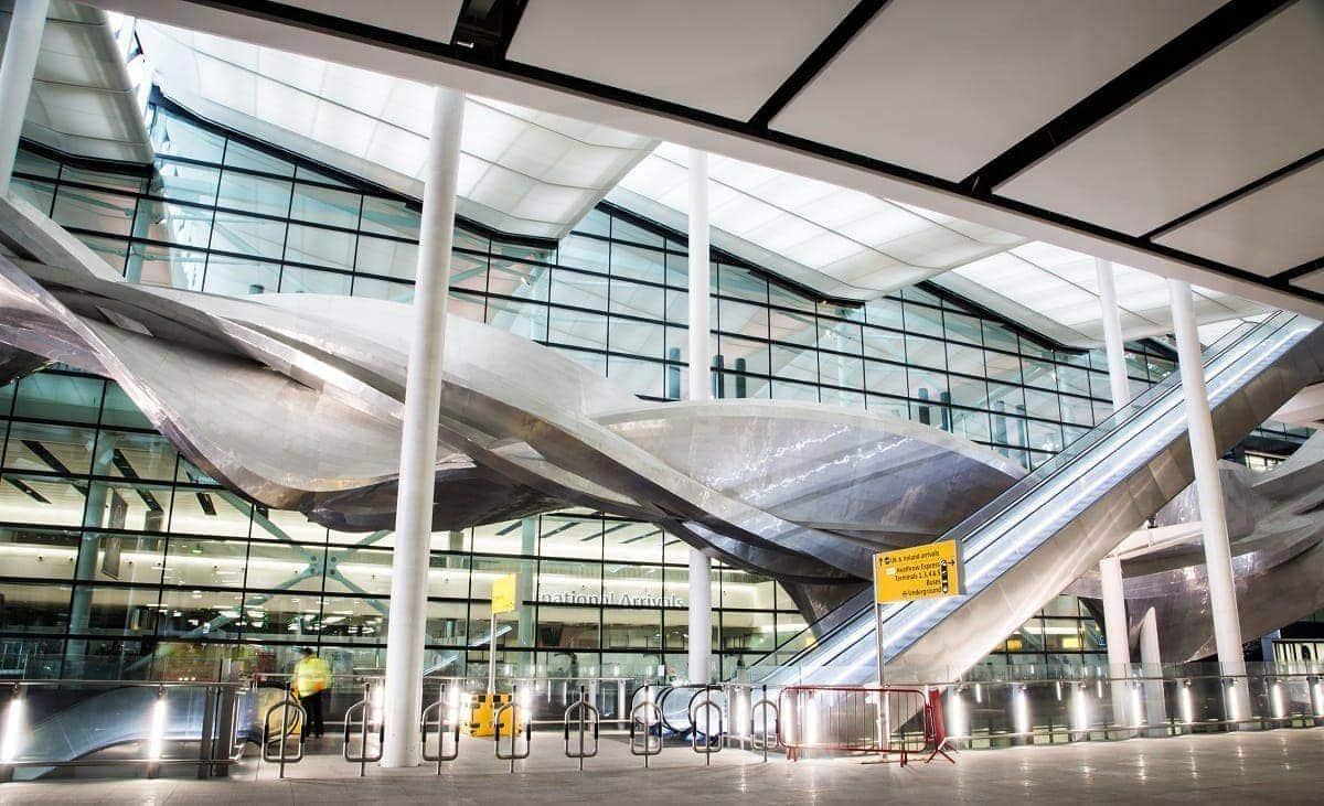 aeropuerto de heathrow interior