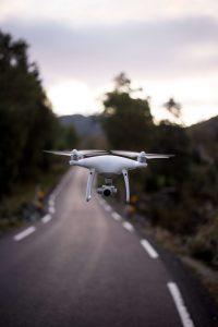 drones VR y sector vial