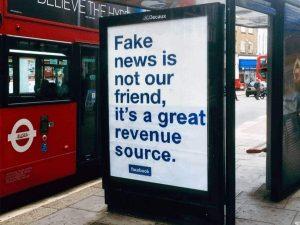 Advertising Fake news