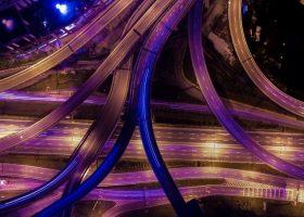 Imagen de red de autopistas