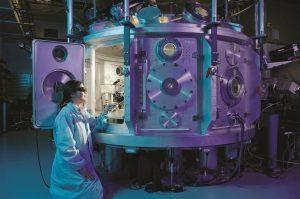 Female Scientist at work