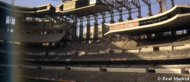 Estadio Santiago Bernabeu remodelación