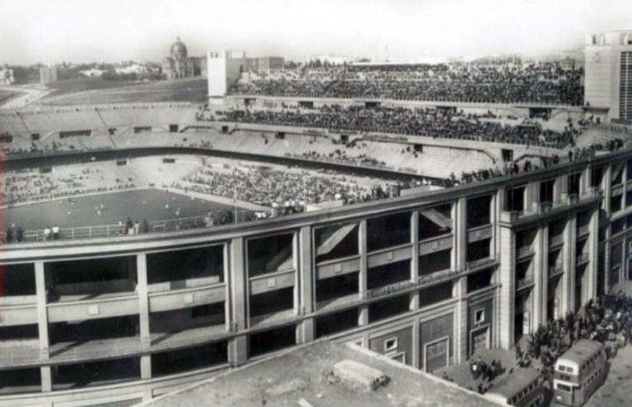 Estadio Santiago Bernabeu años 60