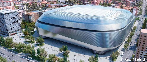 El Santiago Bernabéu, listo para su nueva reforma