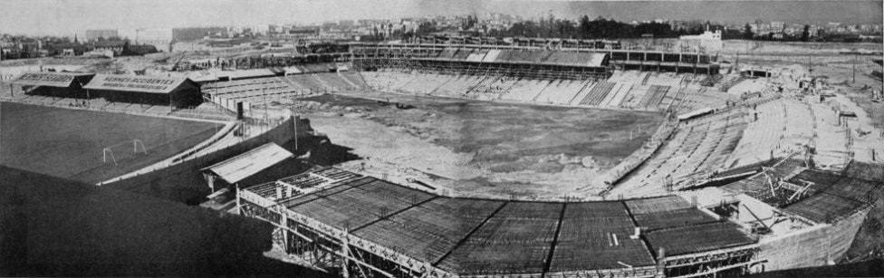 inicios estadio santiago bernabeu