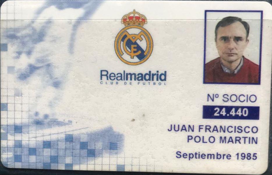 carné real madrid Juan Francisco Polo