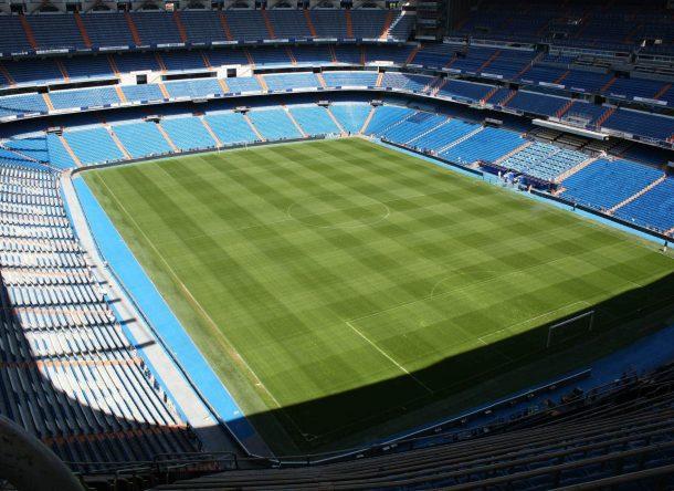 estadio santiago bernabéu del real madrid