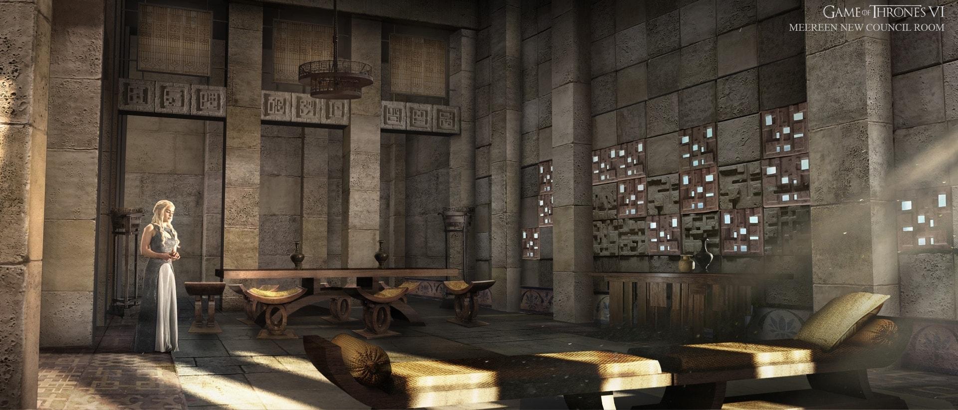 interior design in Game of Thrones