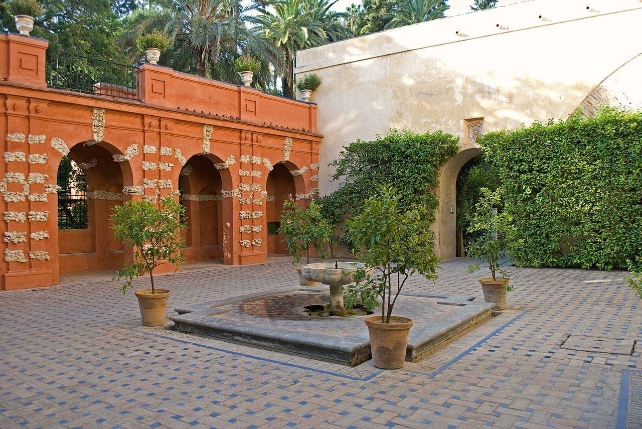 arquitectura Dorne juego de tronos Sevilla